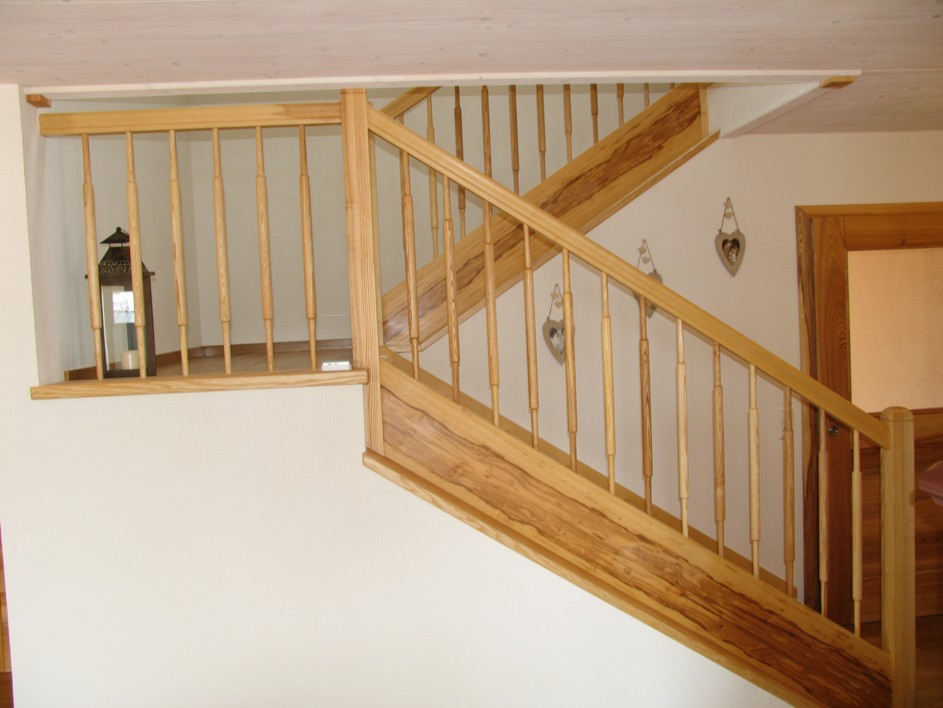 Treppe aus Esche