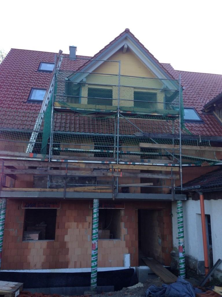 Baustelle Niederwangen